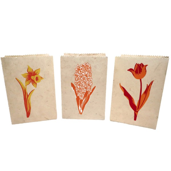 Candlebags 'Dutch Flowers'