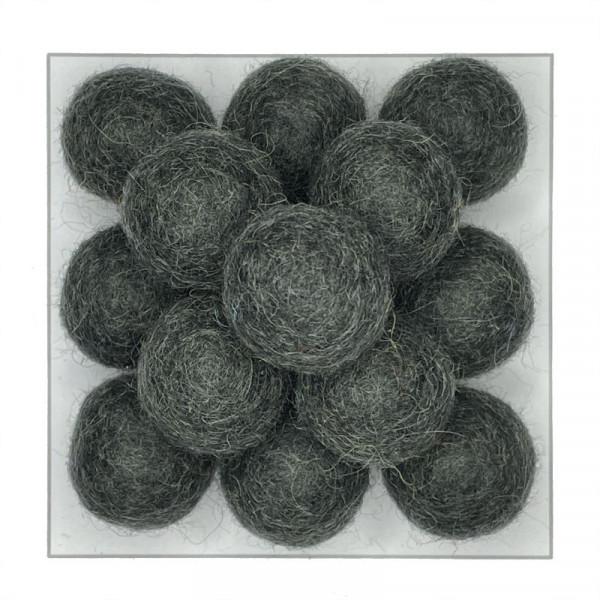 Viltbal - Wolkraal 2,0 cm   gratis verzending   meer dan 50 kleuren   fairtrade