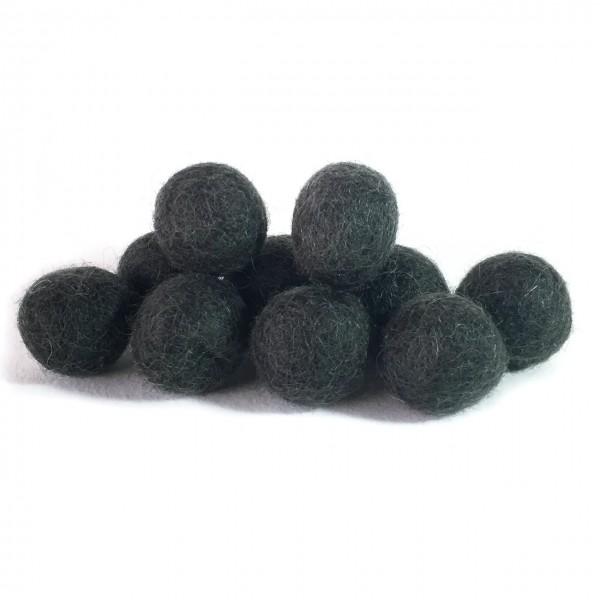 Viltbal - Wolkraal 1,5 cm | gratis verzending | meer dan 25 kleuren | fairtrade