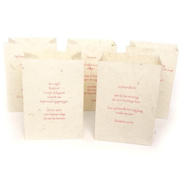 Candlebags 'Gedichten Lente'